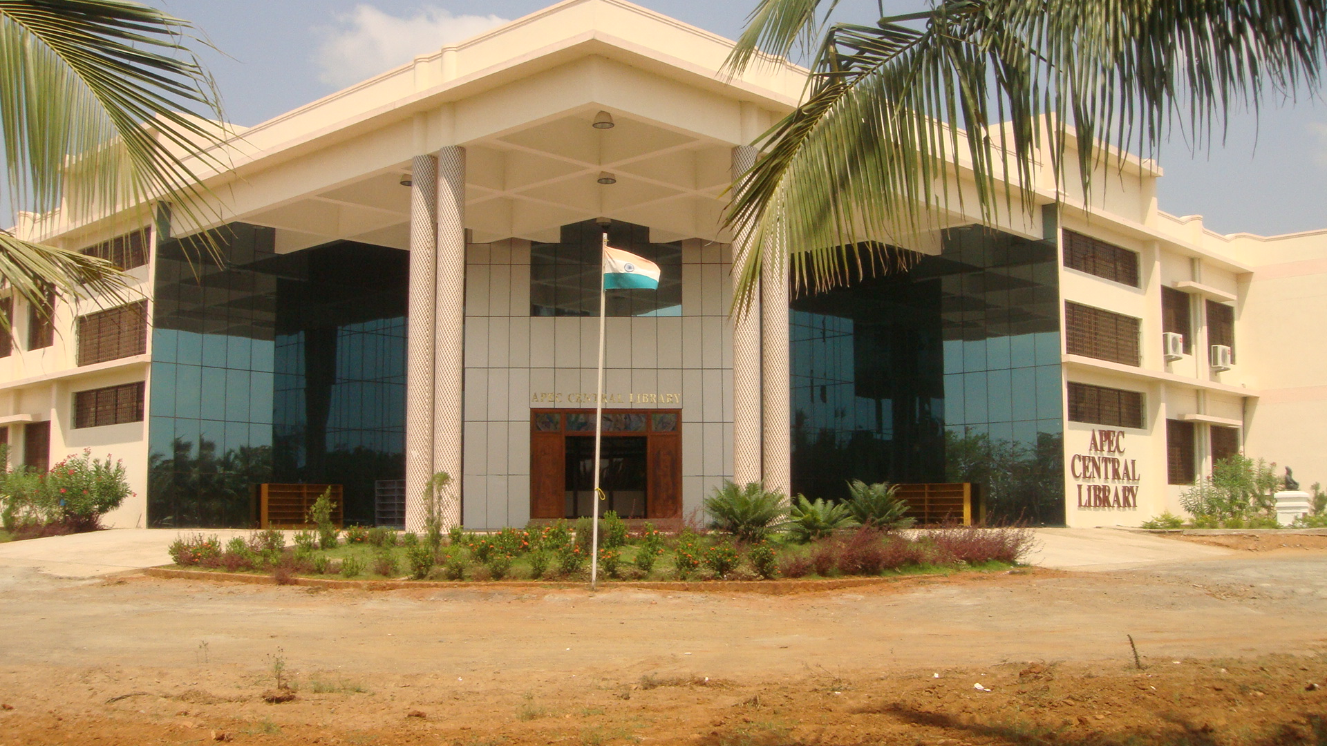 APEC Central Library | Adhiparasakthi Engineering College